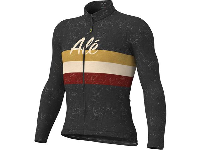 Alé Cycling Classic Vintage LS Jersey Men black